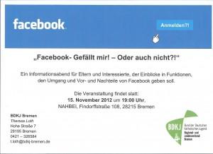 Flyer Facebook-Veranstaltung