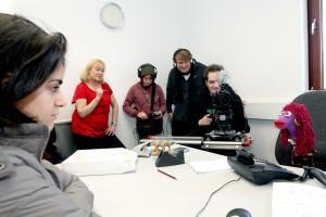 Bild Dreharbeiten Jugendfilmprojekt